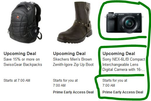 sony_nex6_amazon_prime_early_access_lightning_deal