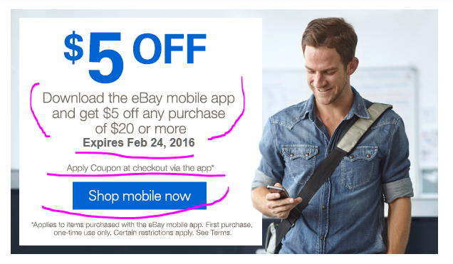 Ebay discount coupons for mobiles
